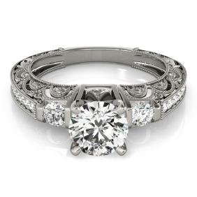1.63 CTW Certified VS/SI Diamond Solitaire Bridal Ring