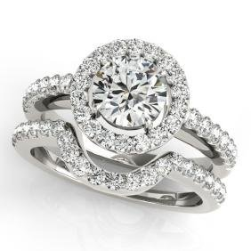 1.21 CTW Certified VS/SI Diamond 2Pc Wedding Set