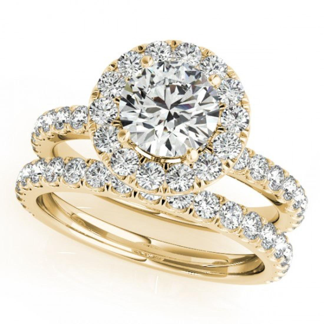 2.29 CTW Certified VS/SI Diamond 2Pc Wedding Set