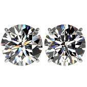 5 CTW Certified HI Quality Genuine Diamond Solitaire