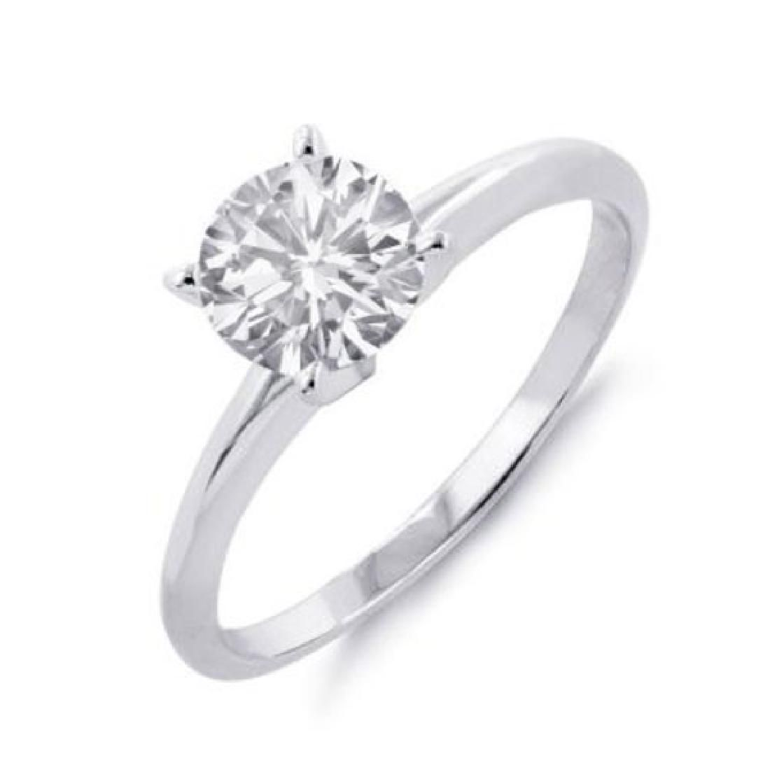 150 CTW Certified VSSI Diamond Solitaire Ring 14K
