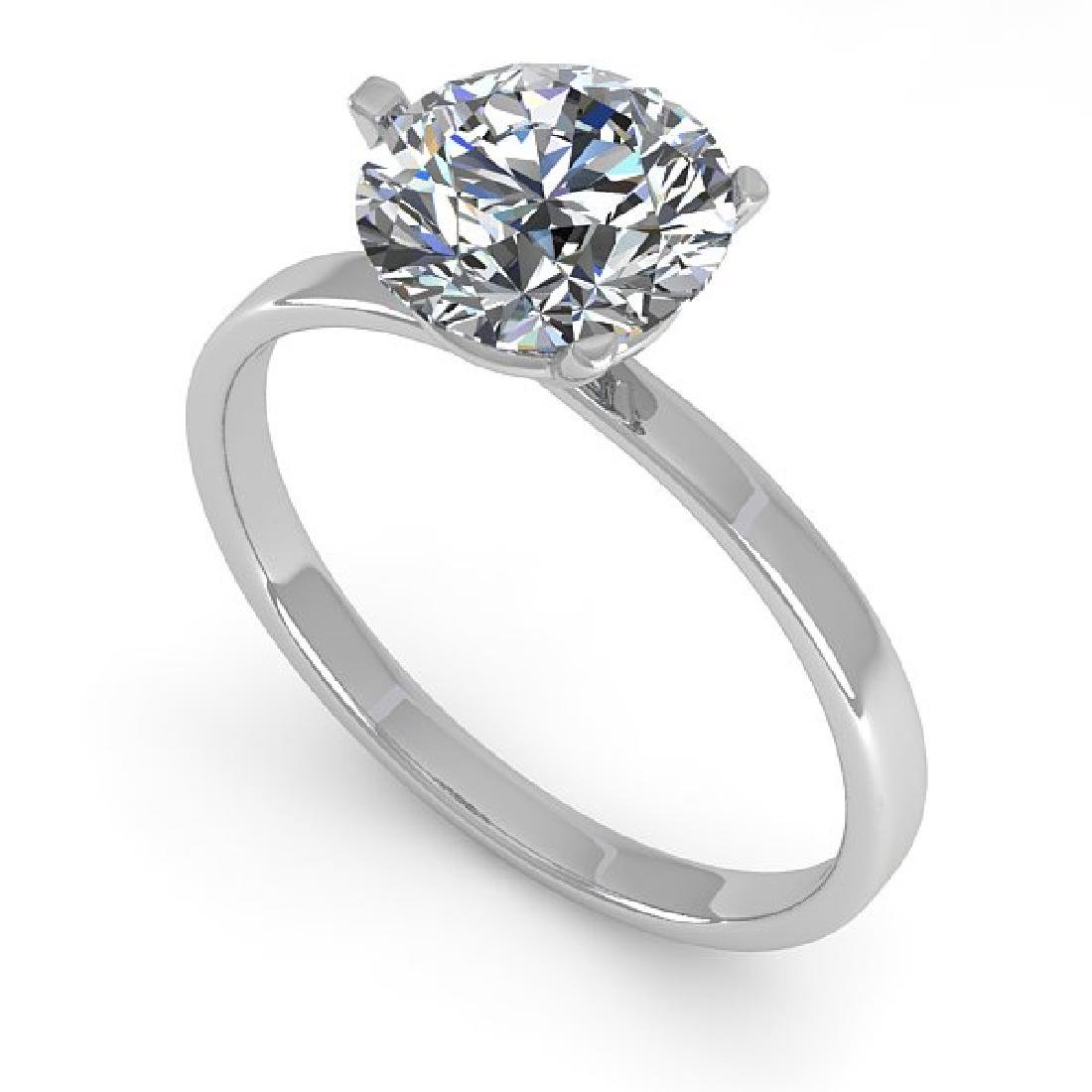 1.50 CTW Certified VS/SI Diamond Engagement Ring