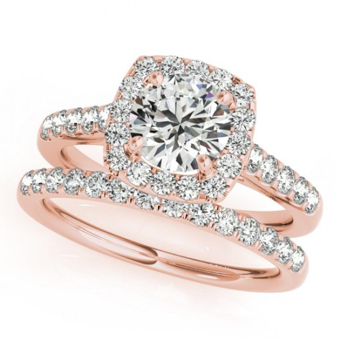 1.70 CTW Certified VS/SI Diamond 2Pc Wedding Set