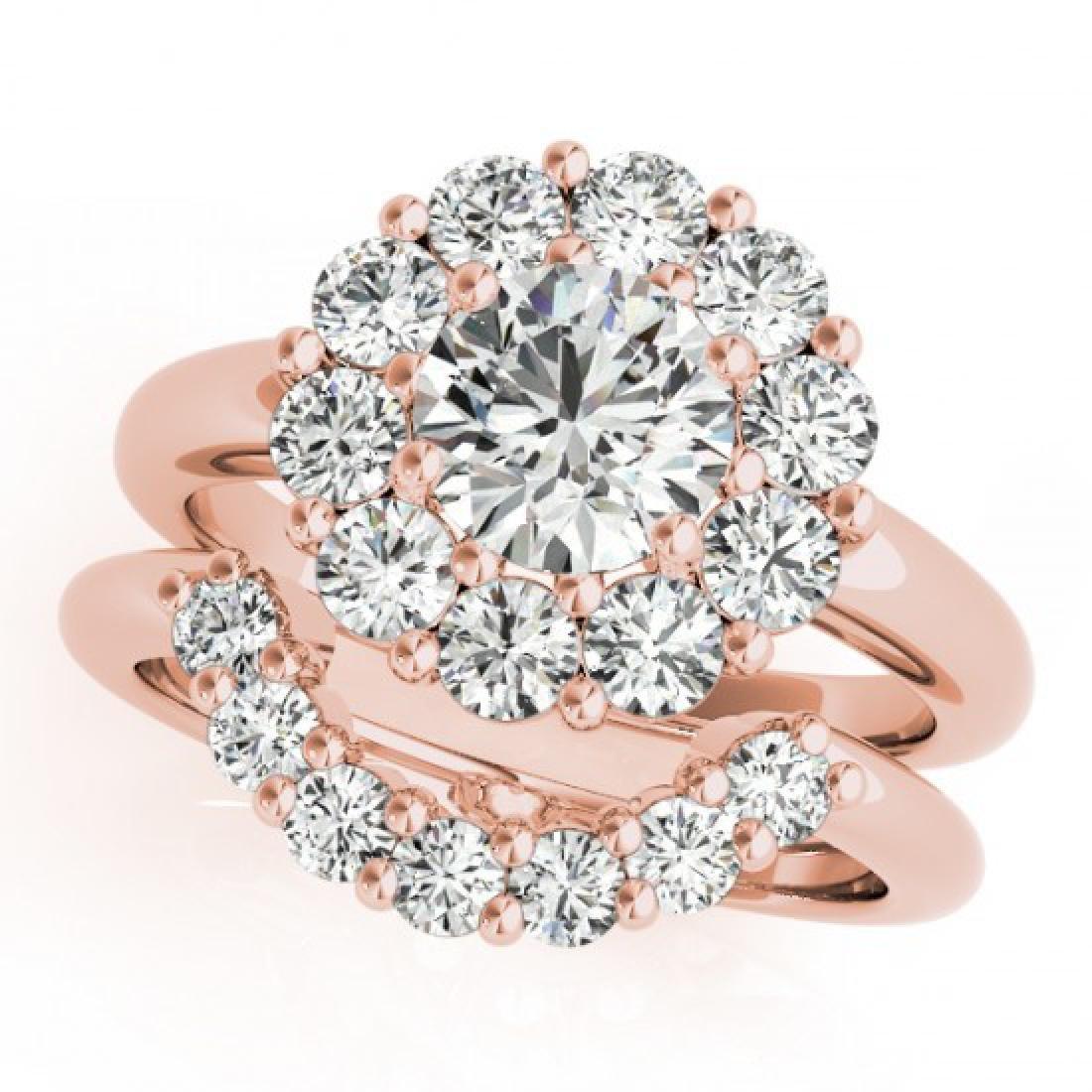 3.35 CTW Certified VS/SI Diamond 2Pc Wedding Set