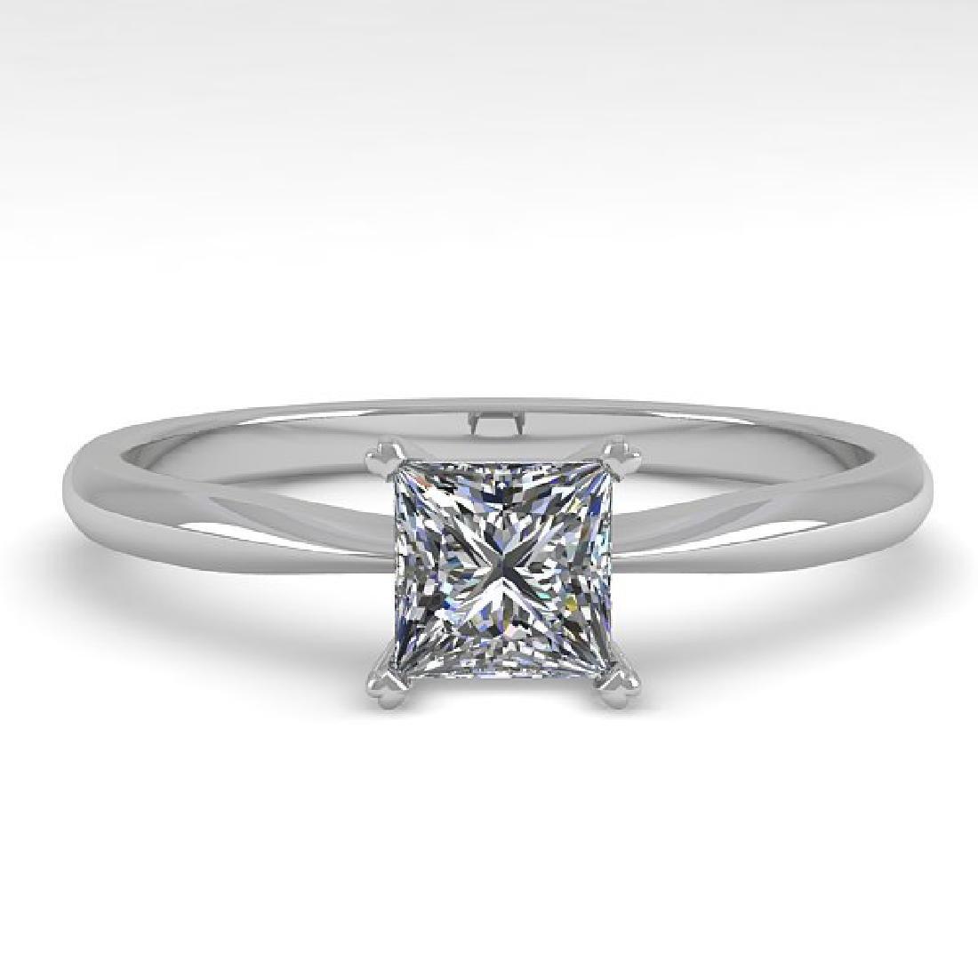0.50 CTW Princess Cut VS/SI Diamond Engagement Designer
