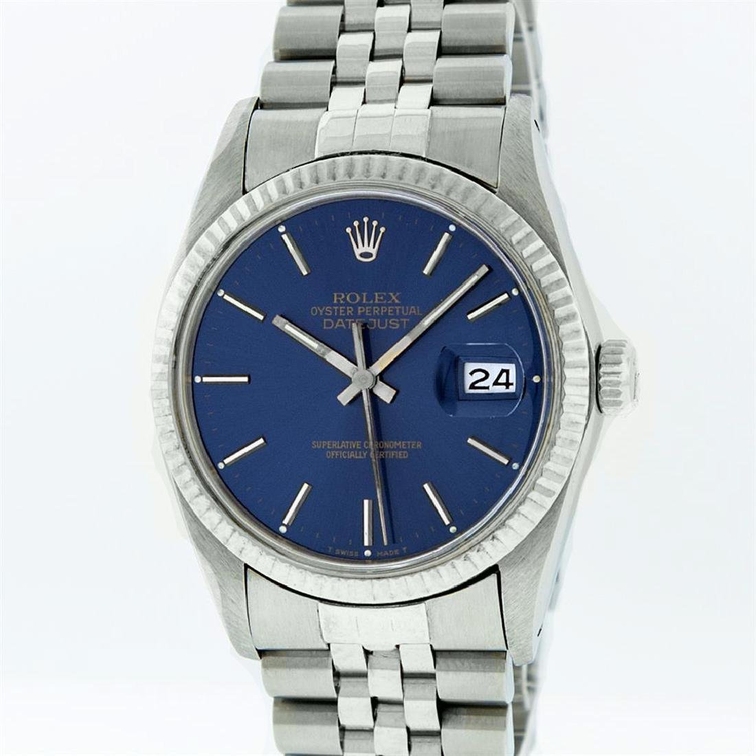 Rolex Ladies Stainless Steel, Index Bar Dial, with