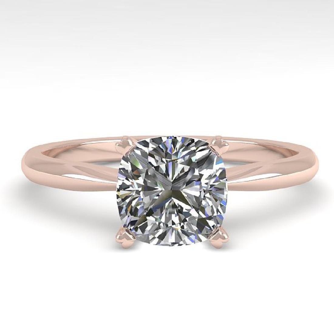 1.01 CTW Cushion Cut VS/SI Diamond Engagement Designer