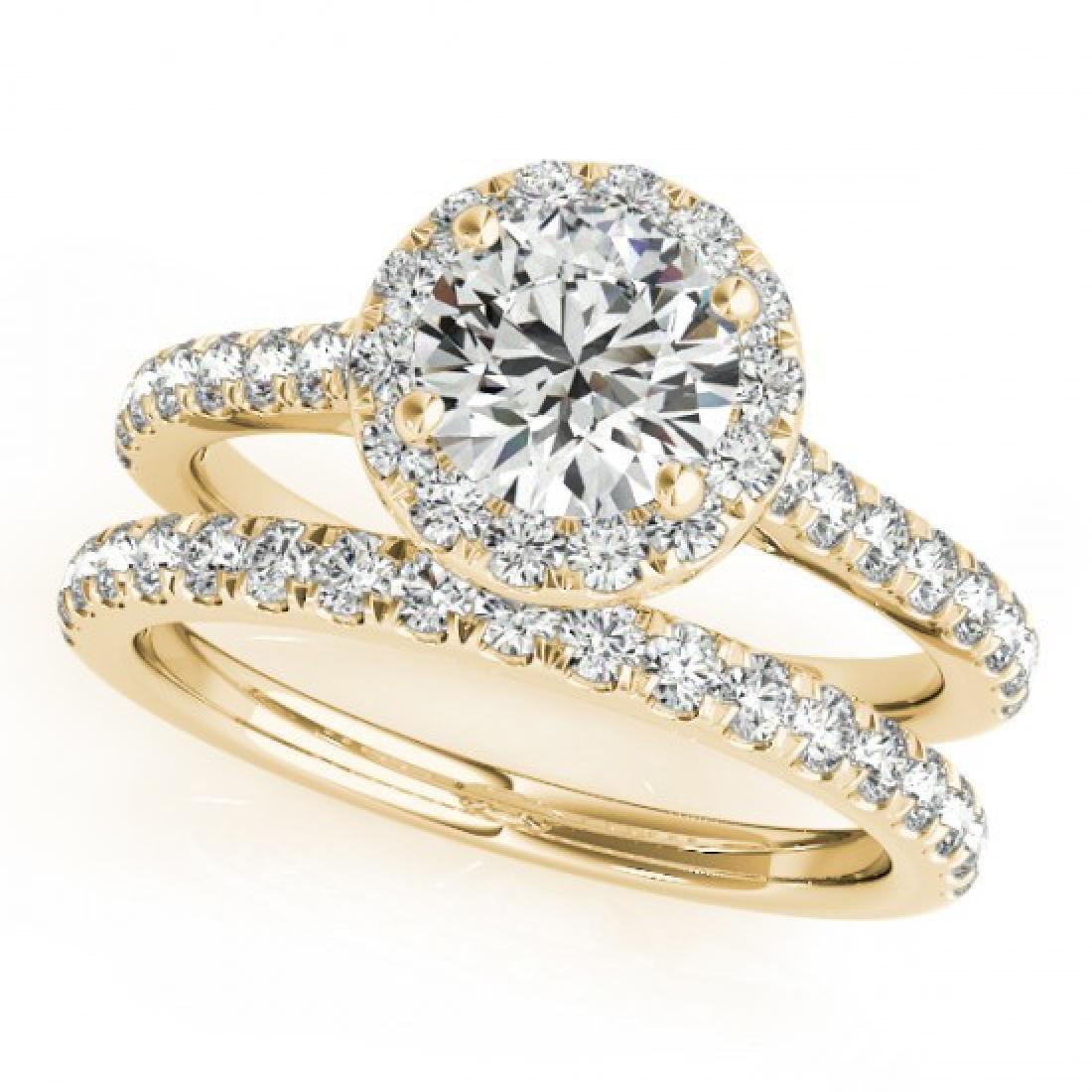 1.71 CTW Certified VS/SI Diamond 2Pc Wedding Set