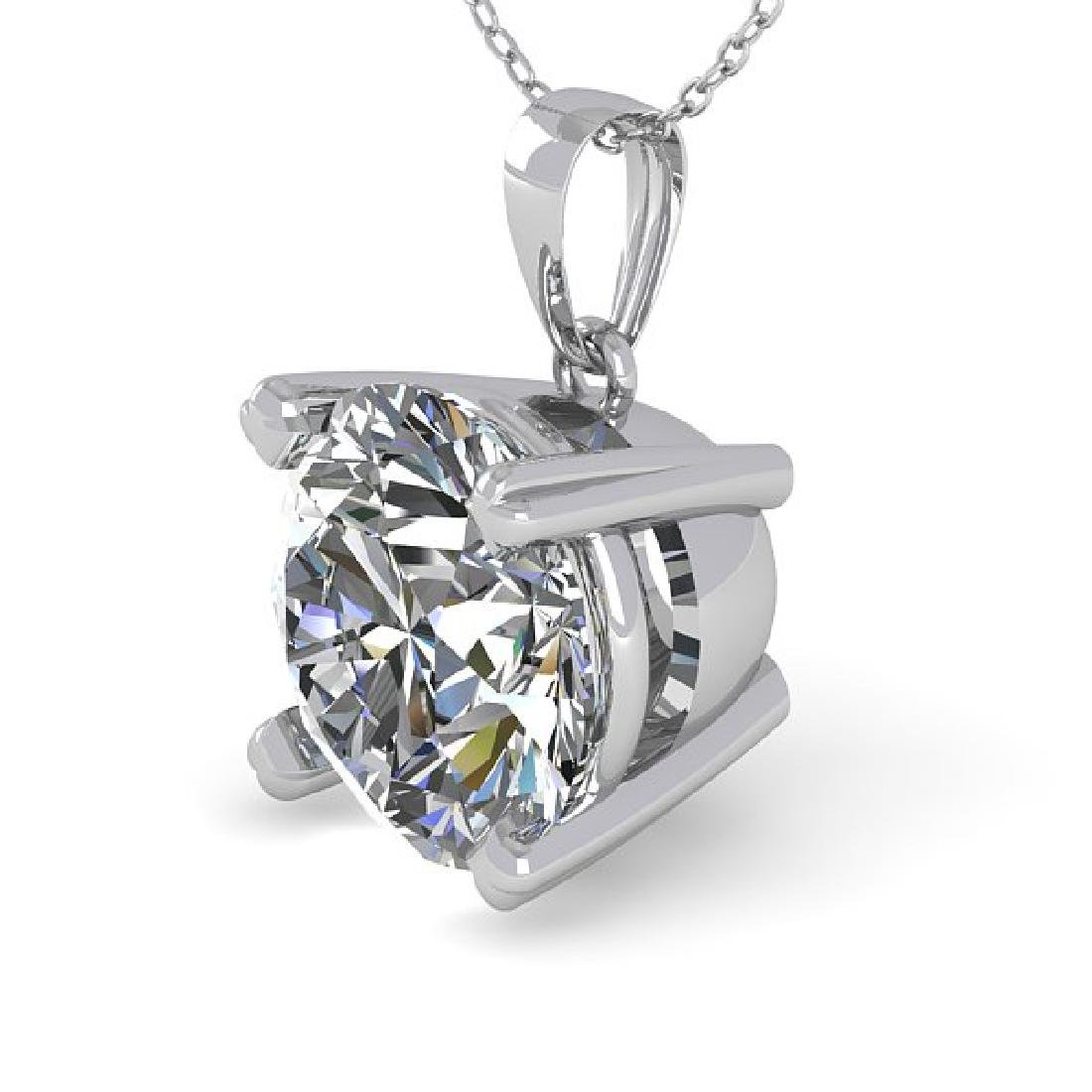 1.50 CTW VS/SI Diamond Designer Necklace 18K White Gold