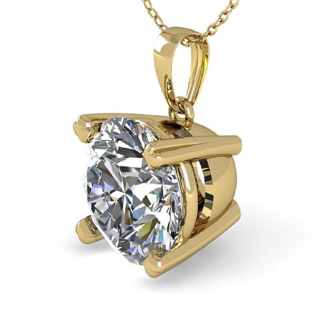 1.50 CTW VS/SI Diamond Designer Necklace 18K Yellow