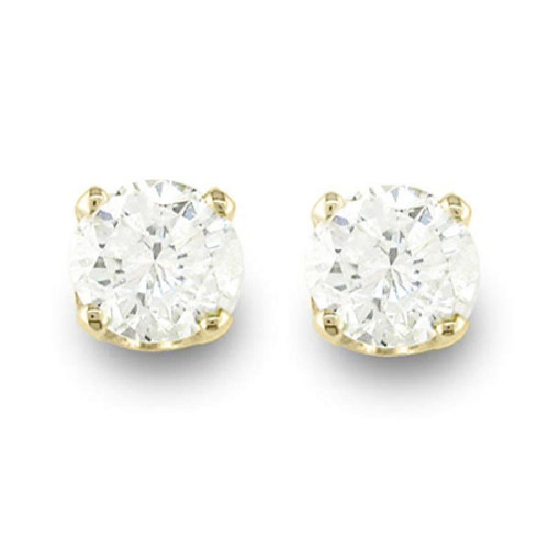 0.15 CTW Certified VS/SI Diamond Solitaire Stud
