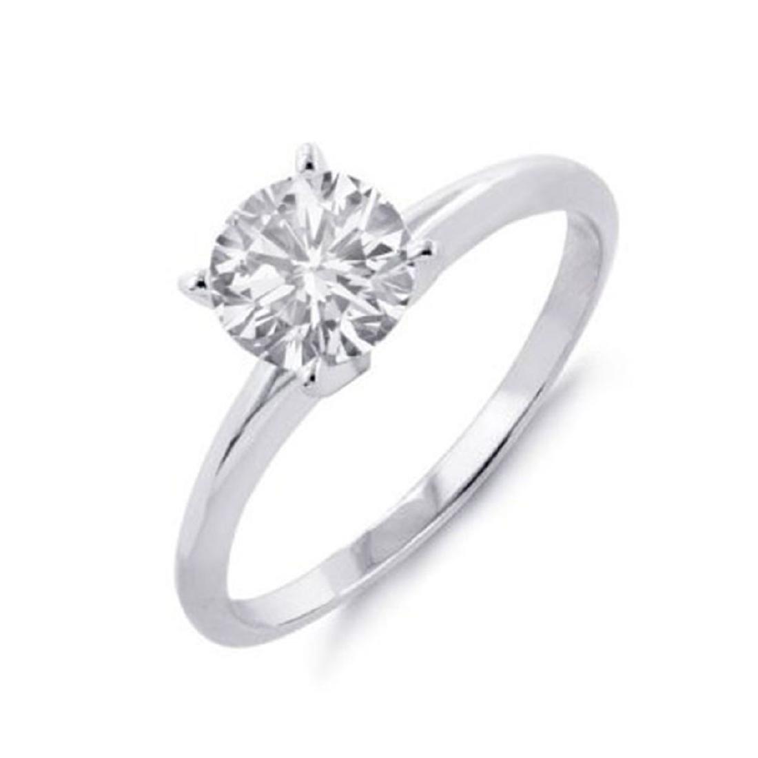0.25 ctw VS/SI Diamond Solitaire Ring 18K White Gold -