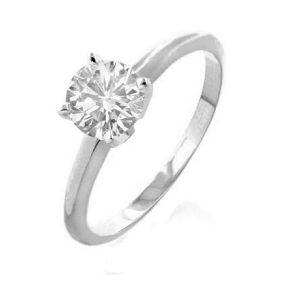 2.0 ctw VS/SI Diamond Solitaire Ring 18K White Gold -