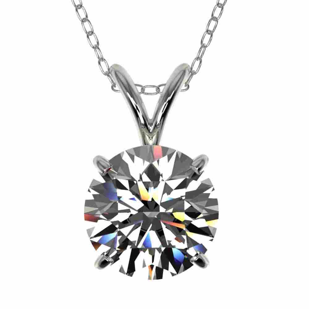 1.50 ctw Certified Quality Diamond Necklace 10k White