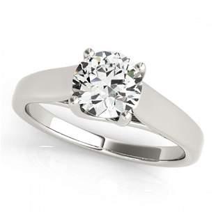 0.5 ctw Certified VS/SI Diamond Ring 18k White Gold -