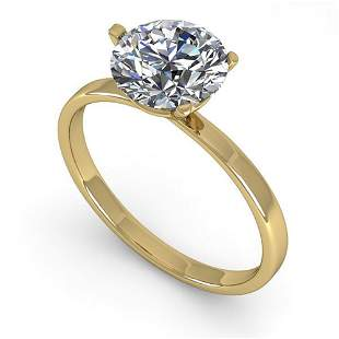 1.51 ctw Certified VS/SI Diamond Engagment Ring Martini
