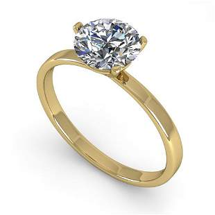 0.50 ctw Certified VS/SI Diamond Engagment Ring Martini