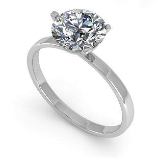 1.50 ctw Certified VS/SI Diamond Engagment Ring Martini