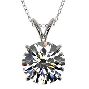 2.03 ctw Certified Quality Diamond Necklace 10k White