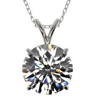 2.50 ctw Certified Quality Diamond Necklace 10k White