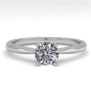 0.50 ctw VS/SI Diamond Engagment Designer Ring 18k