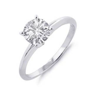 1.25 ctw Certified VS/SI Diamond Solitaire Ring 18k