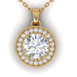0.96 ctw Certified VS/SI Diamond Art Deco Micro