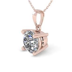 0.50 ctw VS/SI Diamond Designer Necklace 18k Rose Gold