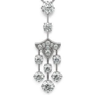 2.75 ctw Diamond Designer Necklace 18K White Gold -