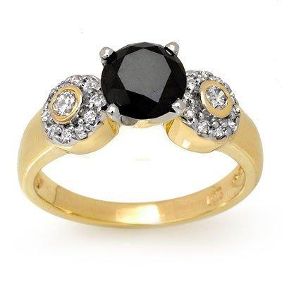 Natural 1.90 ctw Diamond Ring 14K Yellow Gold