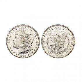 Morgan Silver Dollar Coin - 1878 To 1921 - Extra Fine O