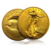 $20 St Gaudens Gold - Double Eagle - 1907 to 1933 - Ext