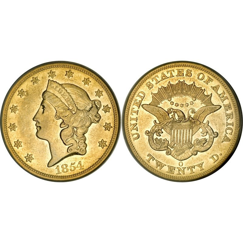 $20 Liberty Gold - Double Eagle - 1850 to 1907 - Extra