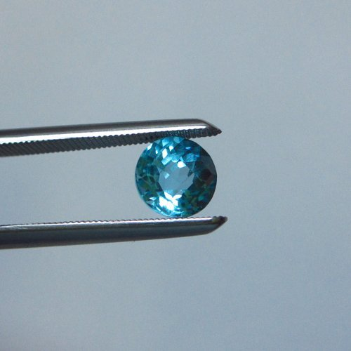 Loose Natural Swiss Blue Round Topaz 6mm