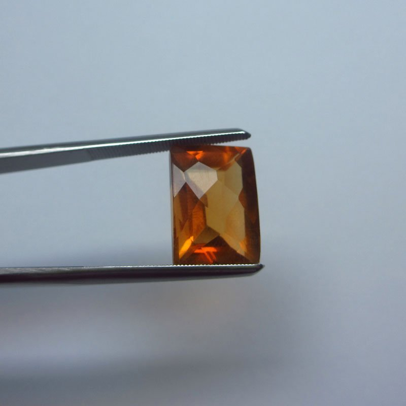Loose Natural Citrine 14mm x 10mm VERY NICE color tone