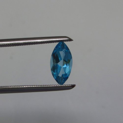 Loose Natural Swiss Blue Marquee Topaz 10mm x 5mm