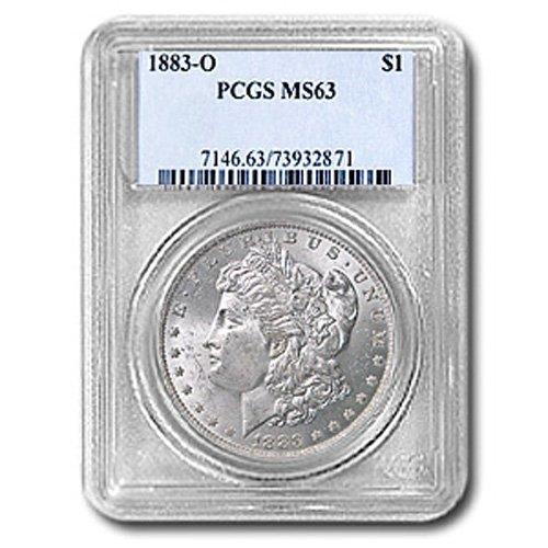 1883 Morgan Silver Dollar MS63 PCGS Certified - P1883