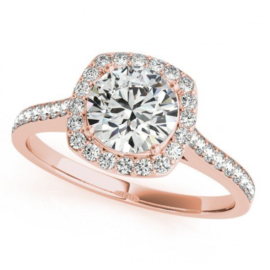 Genuine 1.65 CTW Certified Diamond Bridal Solitaire