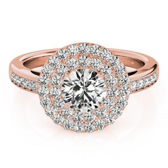 Genuine 0.85 CTW Certified Diamond Bridal Solitaire