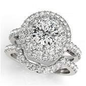 255 CTW Certified VSSI Diamond 2pc Wedding Set