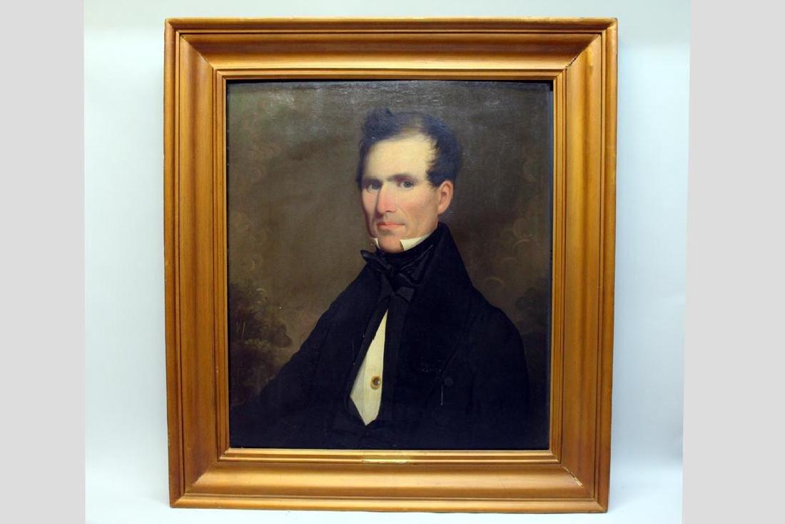 Ezra Ames (Am. 1768-1836) Portrait Of A Gentleman