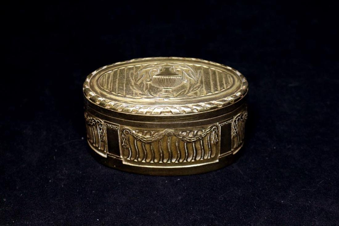 Tiffany Louis XVI Oval Box
