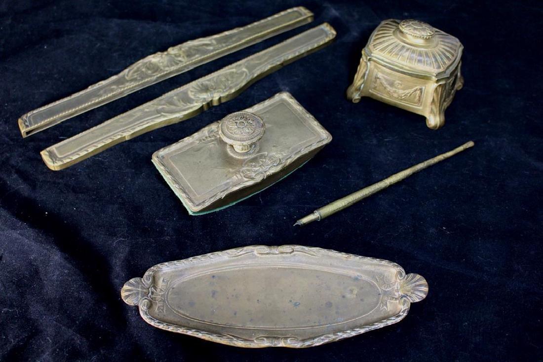 Tiffany Louis XVI Desk Set