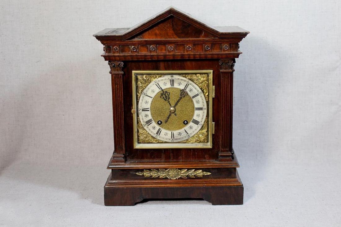 Lenzkirch Mahogany Bracket Clock