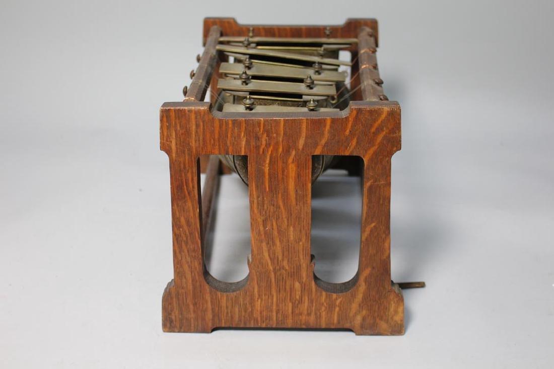 Oak Framed Brass Call Bells - 2