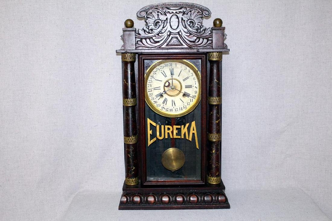 Gilbert Eureka Calendar Clock