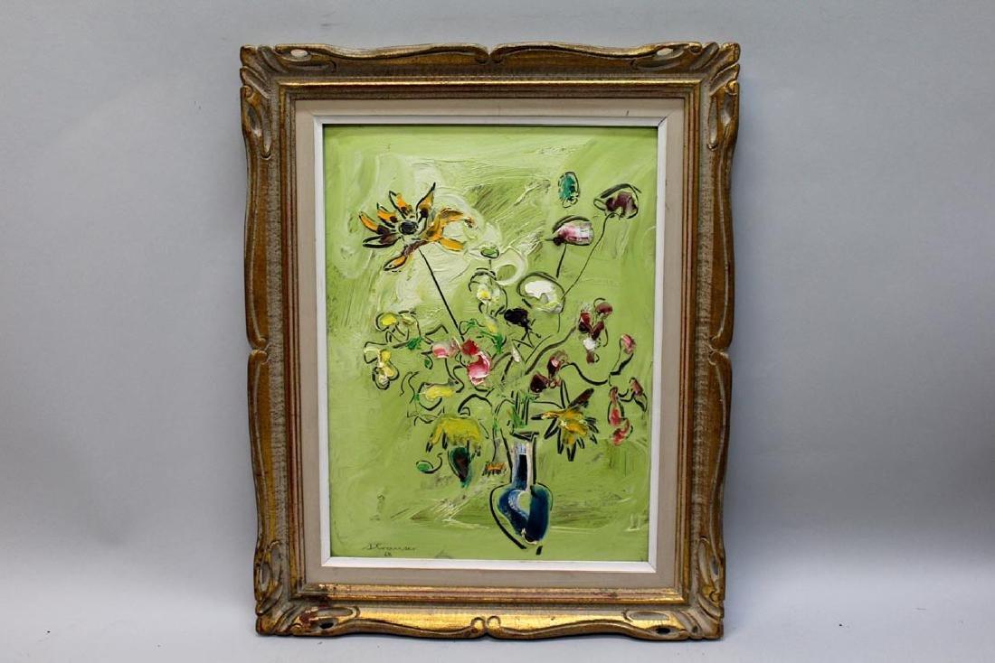 Sterling Boyd Strauser (1907 - 1995) Floral Still Life