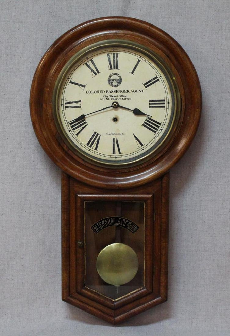 Southern Pacific Railroad Clock