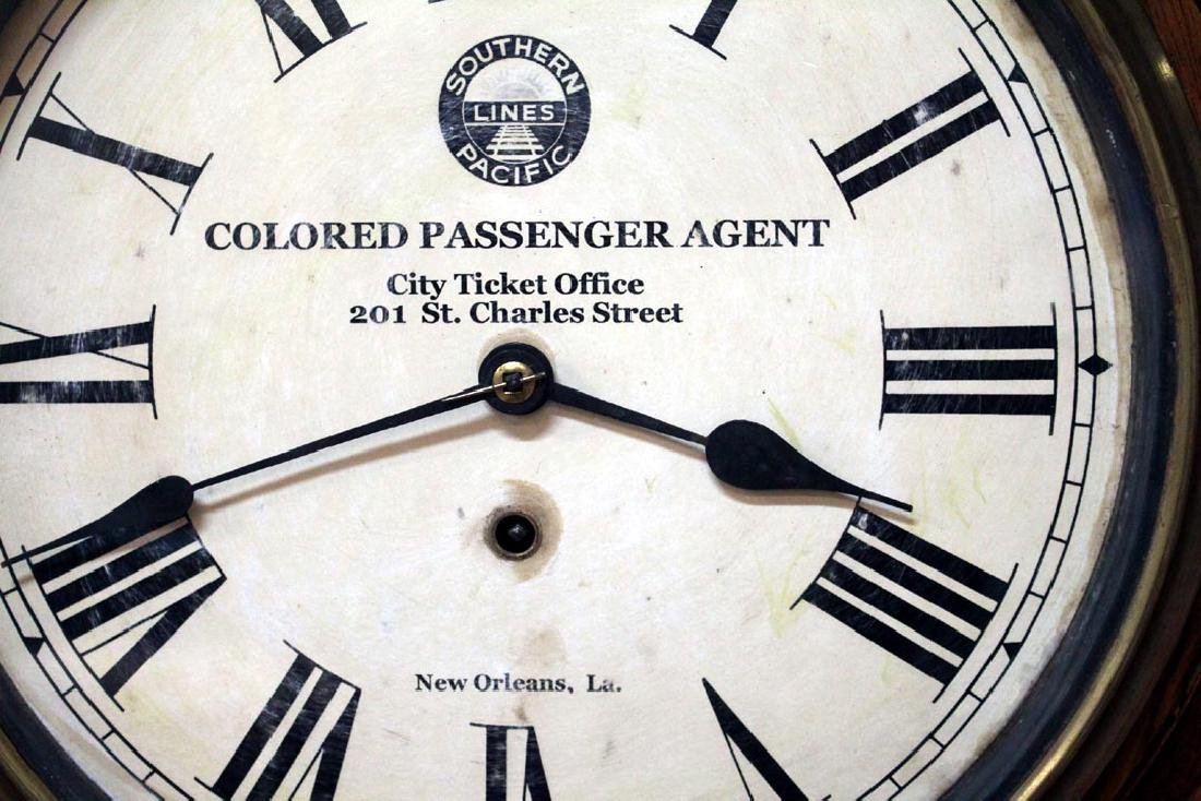 Southern Pacific Railroad Clock - 2