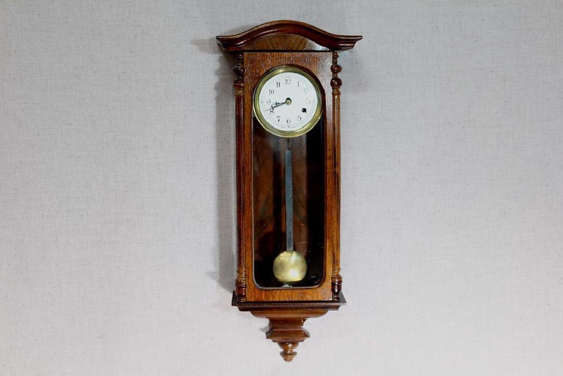 Mahogany  Junghans Wall Clock